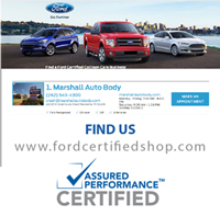 Ford Certified Repair in Milwaukee or Waukesha