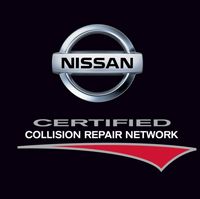 Nissan Certified Collision Repair Network Shop
